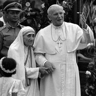 FLASHBACK: JP2 & Mother Teresa