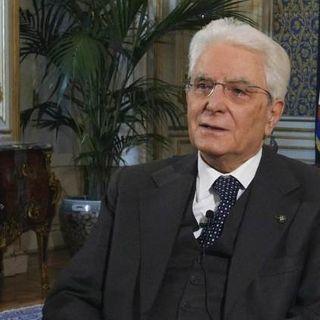 """25 aprile, Mattarella: """"Insieme rinasceremo come allora"""""""