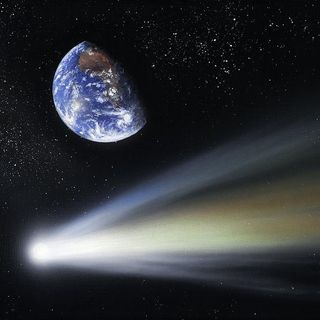 Did Comets Bring Life to Earth?