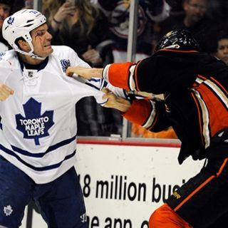 Why is it Ok to fight in hockey?