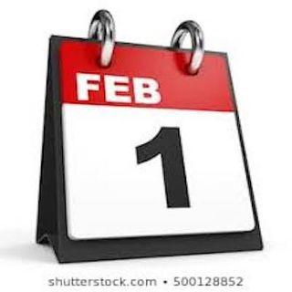FEBRUARY 1ST