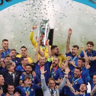 Italia campeón de la Euro 2020