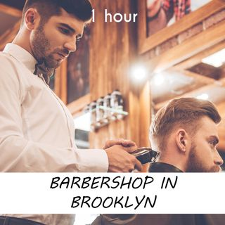 Barbershop in Brooklyn | 1 hour HAIRDRESSER Sound Podcast | White Noise | ASMR sounds for deep Sleep | Relax | Meditation | Colicky