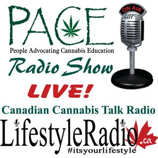 PACE Radio LIVE with Al Graham, Guest patient and cannabis advocate Erin Malougney aka Butterfly and Joint Host Alicia Yashcheshen