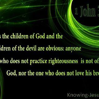 Beginning 1 John 3: The Chapter Of Love