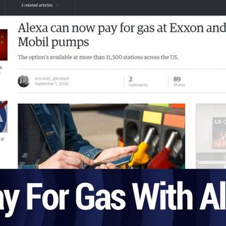 Pay For Gas With Alexa | TWiT Bits