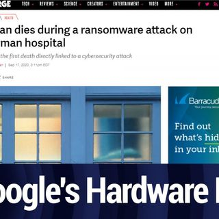 Ransomware's First Fatality | TWiT Bits