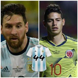 Camisa44 - 01 - Copa América ARG X PAR e COL X CAT