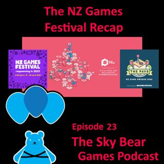Episode 23: Our recap of the NZ Games Festival 2021