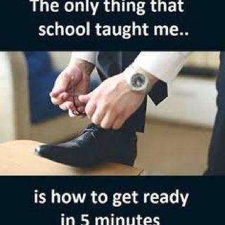 student's school pain