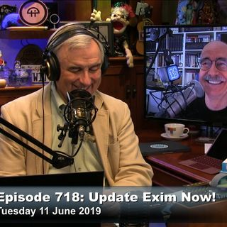 Security Now 718: Update Exim Now!