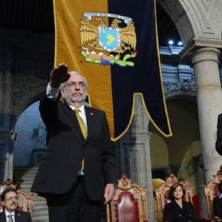 Rinde protesta Graue para segundo periodo como rector de la UNAM