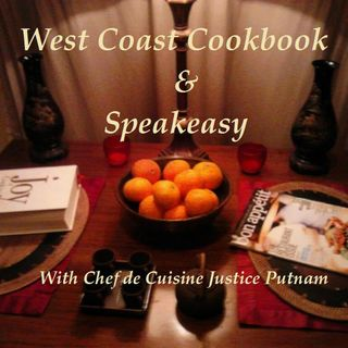 West Coast Cookbook and Speakeasy -- Blue Moon Spirits Fridays 24 May 19