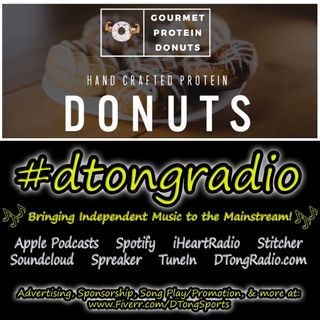 #MusicMonday on #dtongradio - Powered by GourmetProteinDonuts.com