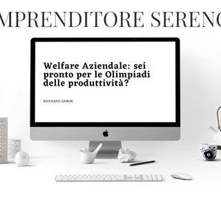 Welfare Aziendale: sei pronto per le Olimpiadi delle produttività?