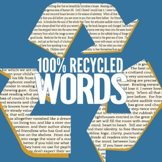 100% Recycled Words