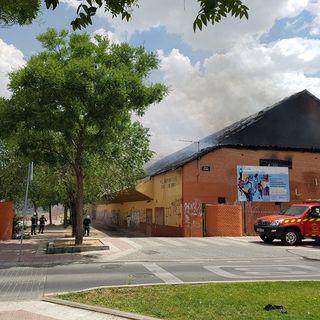 El incendio del poli San Isidro no pone en peligro el Festival Cultura Inquieta
