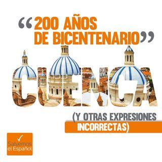"""""""200 años de bicentenario"""" (y otras expresiones incorrectas) - T01E02"""