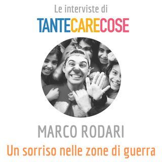 Le interviste: Marco Rodari - Claun Il Pimpa, Come porto un sorriso nelle zone di guerra