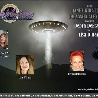 Lisa O'Hara~Stargate to the Cosmos~09/15/20~Janet Kira &  Dr. Sasha Alex Lessin