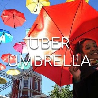 Uber Umbrella - Morning Manna #2777