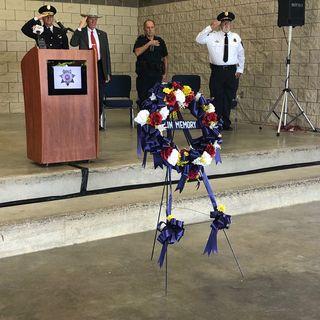 32nd annual Brazos County law enforcement memorial program