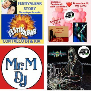 """Radio 40 """"Forty before the night"""" SPECIAL SAN VALENTINO"""