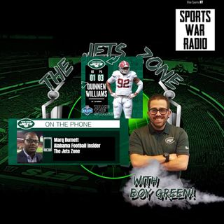 The Jets Zone: Marq Burnett Interview, Quinnen Williams analysis