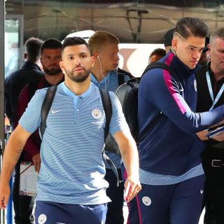 Manchester City on pre-season tour in the USA