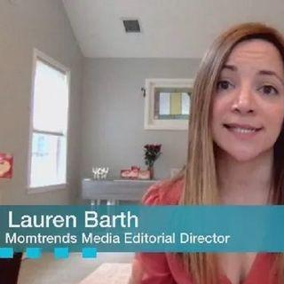 Lauren Barth of #MomTrends shares #mealtime tips on #ConversationsLIVE ~ @momtrends #holidayseason #cooking #beverages