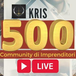 Live per celebrare i (più di) 500 Membri di KRIS - Special Leaders