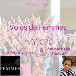 PVY 070 VOIES DE FEMMES