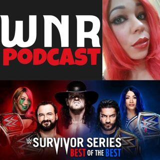 WNR318 WWE SURVIVOR SERIES 2020