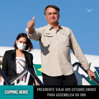 Bolsonaro viaja aos Estados Unidos para assembleia da ONU