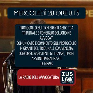RICHIEDENTI ASILO -PROTOCOLLO VENEZIA|CONCORSO ASSISTENTI GIUDIZIARI & SCORRIMENTO GRADUATORIA-Mercoledi 28 Marzo 2018 #Svegliatiavvocatura