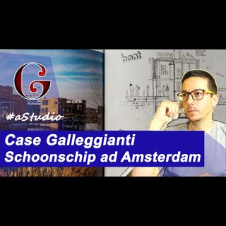 Case Galleggianti Schoonschip ad Amsterdam #aSTUDIO