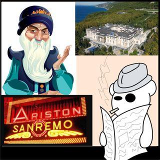 Sanremo, la villa di Putin e Osho censurato
