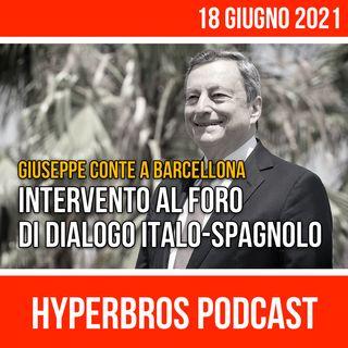 Intervento di Draghi e Sanchez al Foro di dialogo italo-spagnolo