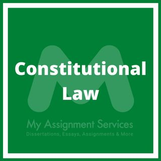 Constitutional Law- Podcast
