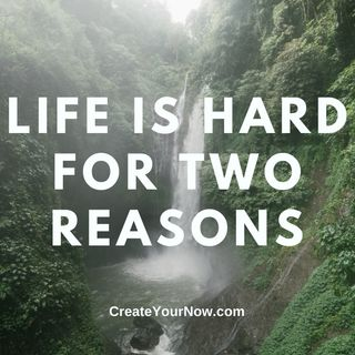 2383 Life is Hard for Two Reasons