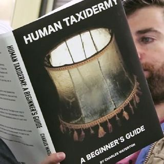 Scott Rogowsky, comedian aka the man on the subway reading those special books.