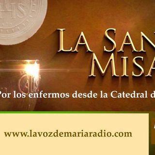 Misa de Sanación por los Enfermos - Miércoles 12 de Julio 17