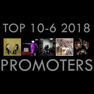 Top 10 Álbumes del 2018 | The Promoters Podcast #2 (Machine Girl, Idles, Daron Malakian, Saba...)