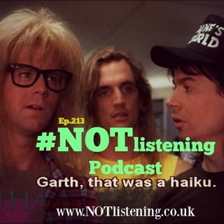 Ep.213 - Garth, That was a Haiku