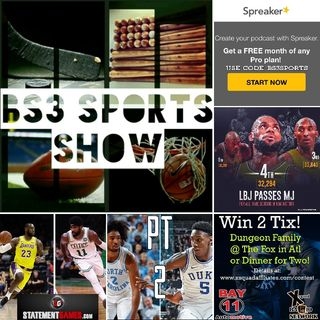 "BS3 Sports Show - ""The King is Rising"""