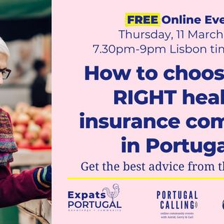 Choose the right Portuguese health insurance | An Expats Portugal 'Portugal Calling' webinar