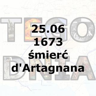Tego dnia: 25 czerwca (Śmierć d'Artagnana)