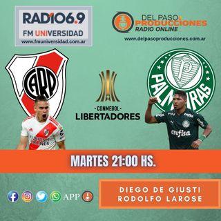 River fue una sombra y cayó con Palmeiras 3 a 0 como local