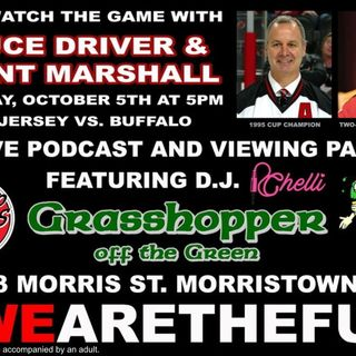 Grasshopper off the Green: Come Watch the Game with Bruce Driver and Grant Marshall (10/5)