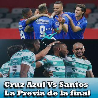Previa Final Cruz Azul Vs Santos